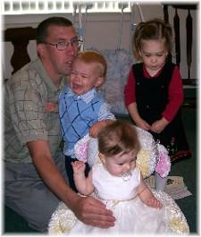 Nursery kids with Ken