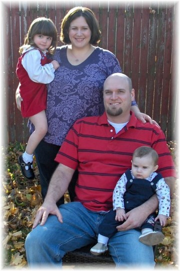 Photo of Sean and Jeanette Paradis family