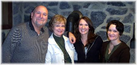 Pat Weber & family
