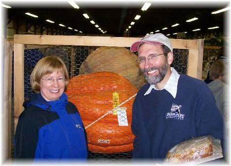 Rich & Jamie Bushong at 2010 Manheim farmshow