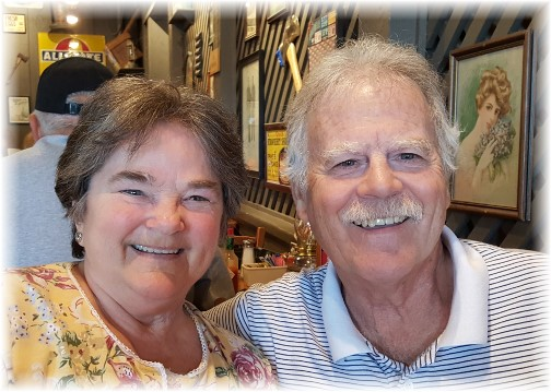 Rick and Jackie Steudler 5/22/16
