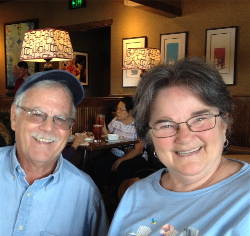 Rick and Jackie Steudler 10/9/15