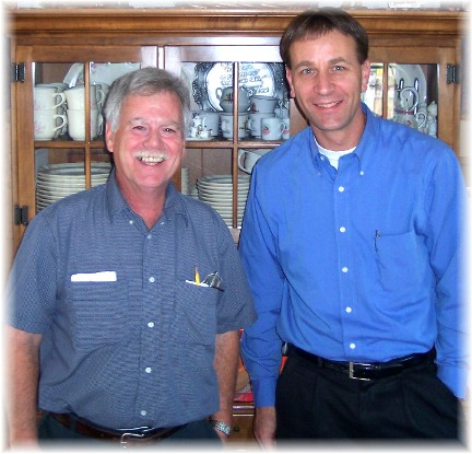 Rick Steudler and Mike Kleinhans