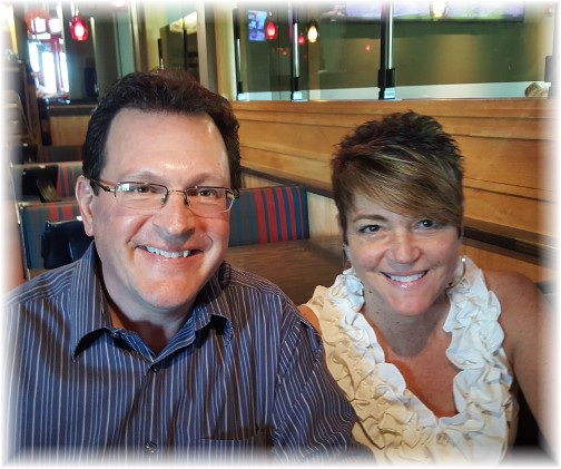 Rick and Rachel Caldwell 4/18/17