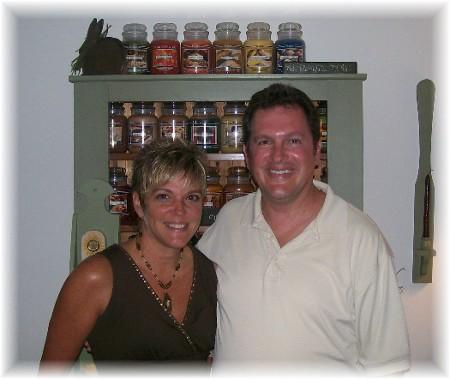 Rick & Rachel Caldwell 7/25/09