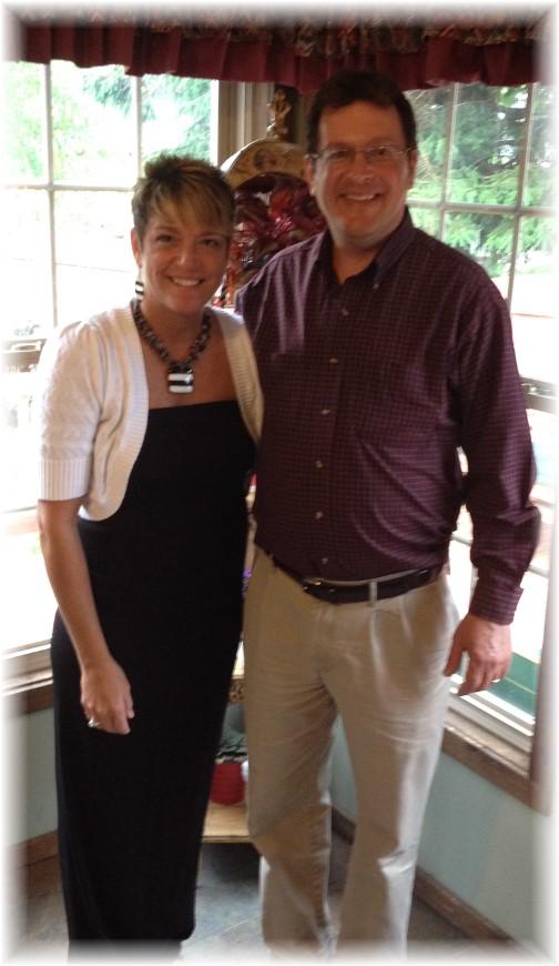 Rick and Rachel Caldwell 5/27/14