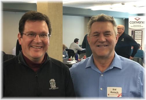 Rick Caldwell and Sid Raisch 3/22/18