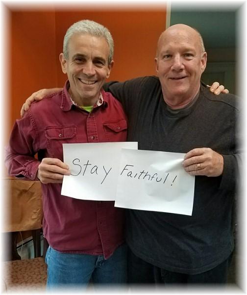 Rick Masciantonio and Tom Hanley 9/30/17