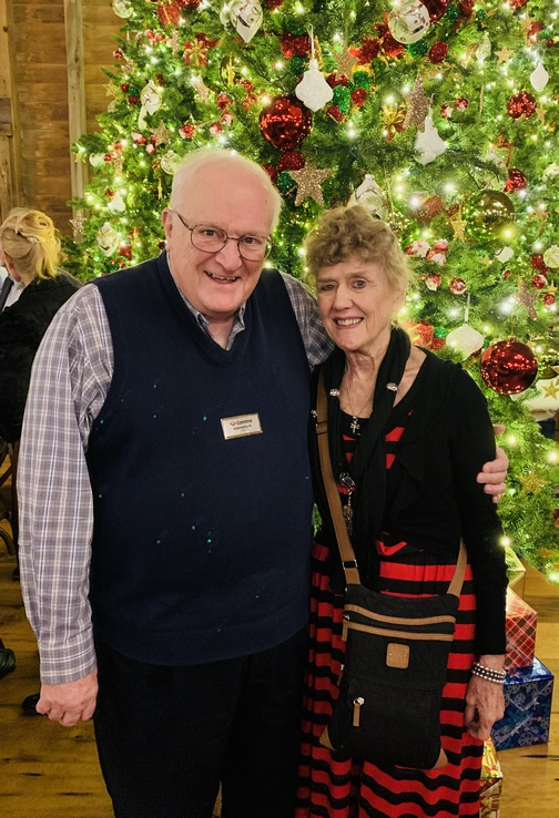 Ron and Bonnie Hoover 12/19/19