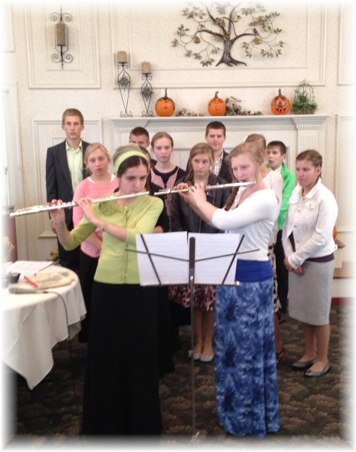 Russian youth at Longwood Manor 10/26/14