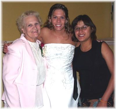 Sally, Becky and Ester