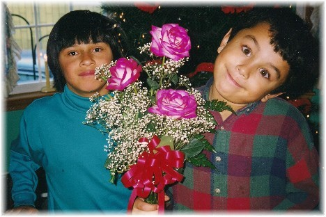 Sam Masciantonio and Ester (about 1998)