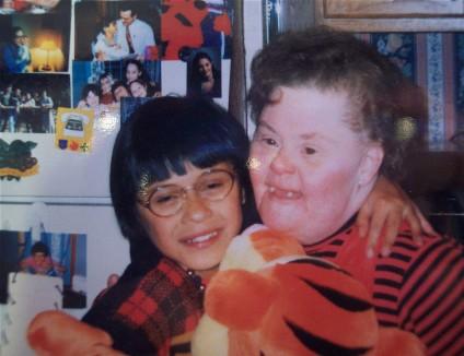 Sandy w/ Ester (about 1996)