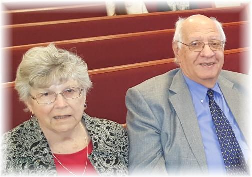 Jim and Dorothy Schmidt 5/15/16