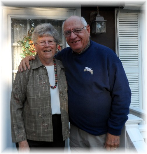 Jim and Doroothy Schmidt 11/14/12