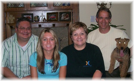 David Simpson family 8/10/09