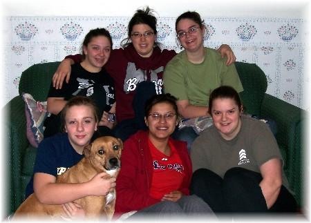Ester's Bible Quiz friends 01/09