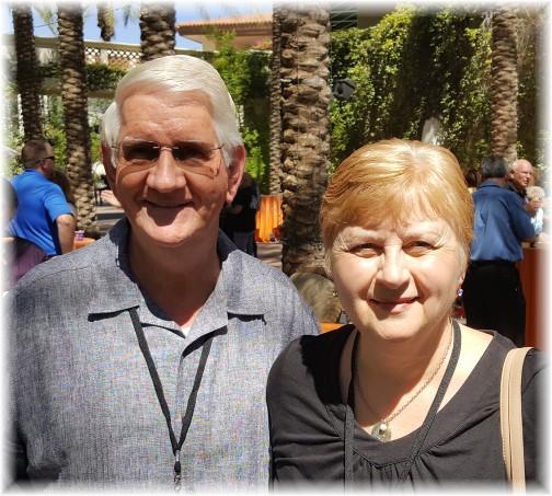 Steve and Lillian Sparks 7/12/16