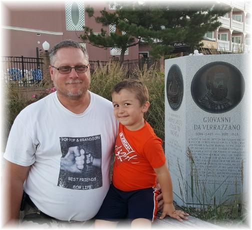 Steve with grandson 9/23/17