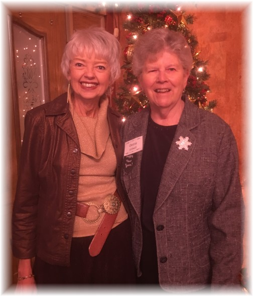 Terri Roberts with Dot Schmidt 1/5/16
