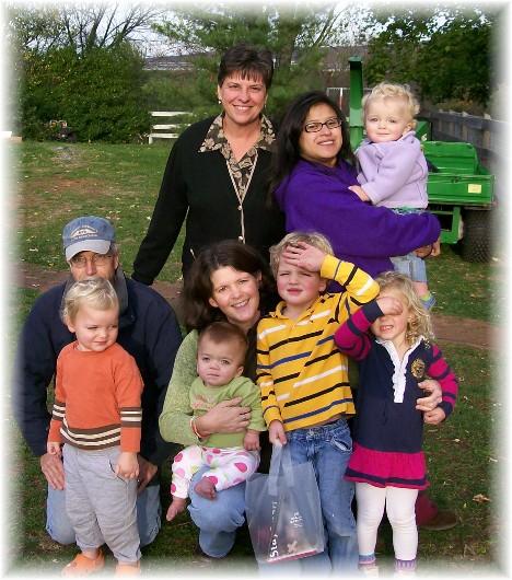 Thompson family 10/30/10