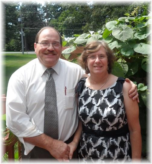 Tim and Liz Morrison 8/25/13