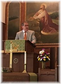 Tim Heitz preaching 5/21/17