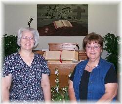 Lilliian DeHart & Tina Kester 7/19/09