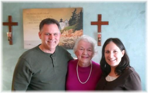 Tom, Betty and Marsha Neizmik 3/19/13