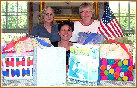 Brenda and Glenda, Val friends