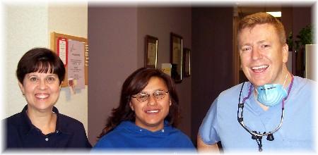 Wendy, Ester & Dr. Dinse
