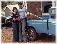 First pets as married couple 1976