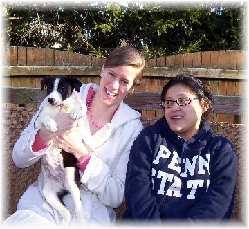 Molly with Ashley & Ester 3/8/11