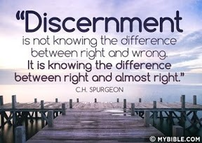 Discernment quote