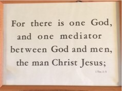 1 Timothy 2:5 Kember print