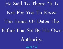 Acts 1:7