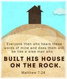 Matthew 7:24 illustration