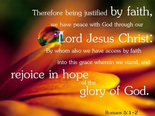 Romans 5:1,2