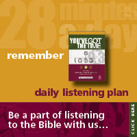"""You've Got The Time"" Bible reading plan"
