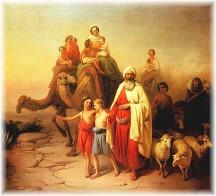 Abram leaving Haran