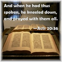 Acts 20:36