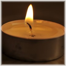Shining candle