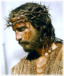 Crown of Thorns on Jesus