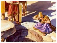 Darius at lion's den