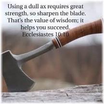 Ecclesiastes 10:10