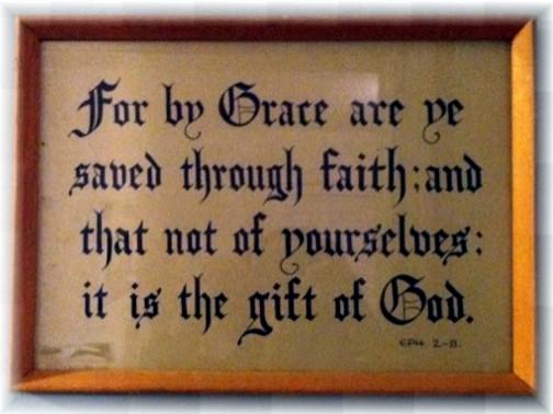 Kember print Ephesians 2:8