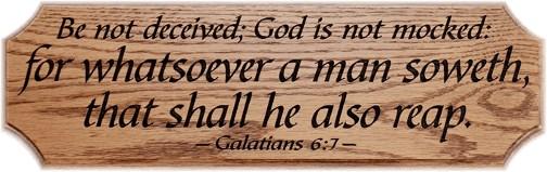 Galatians 6:7