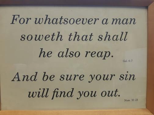 Kember Scripture print
