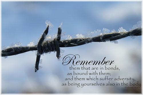 Hebrews 13:3