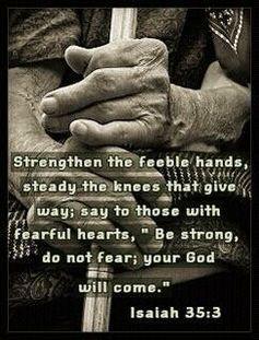 Isaiah 35:3